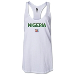 Nigeria FIFA Women's World Cup Canada 2015(TM) Racerback Tank Top (White)