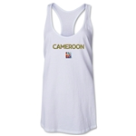 Cameroon FIFA Women's World Cup Canada 2015(TM) Racerback Tank Top (White)
