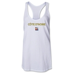 Cote d'Ivoire FIFA Women's World Cup Canada 2015(TM) Racerback Tank Top (White)