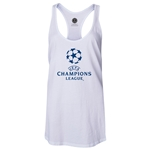 UEFA Champions League Women's Racerback Tank Top (White)