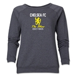 Chelsea Graphic Women's Crewneck Fleece (Dark Grey)