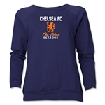 Chelsea Graphic Women's Crewneck Fleece (Navy)