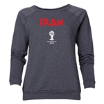 Iran 2014 FIFA World Cup Brazil(TM) Women's Core Crewneck Sweatshirt (Dark Grey)