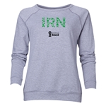 Iran 2014 FIFA World Cup Brazil(TM) Women's Elements Crewneck Sweatshirt (Grey)