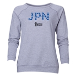 Japan 2014 FIFA World Cup Brazil(TM) Women's Elements Crewneck Sweatshirt (Grey)