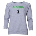 Algeria 2014 FIFA World Cup Brazil(TM) Core Women's Crewneck (Grey)