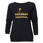 Germany 2014 FIFA World Cup Brazil(TM) Champions Trophy Women's Crewneck (Black)