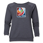 FIFA Women's World Cup Canada 2015(TM) Women's Event Emblem Crewneck Sweatshirt (Dark Grey)