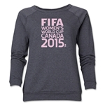 FIFA Women's World Cup Canada 2015(TM) Women's Core Crewneck Sweatshirt (Dark Grey)