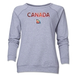 Canada FIFA Women's World Cup Canada 2015(TM) Women's Core Crewneck Sweatshirt (Grey)