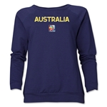 Australia FIFA Women's World Cup Canada 2015(TM) Women's Core Crewneck Sweatshirt (Navy)