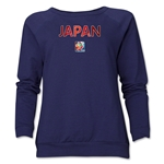 Japan FIFA Women's World Cup Canada 2015(TM) Women's Core Crewneck Sweatshirt (Navy)