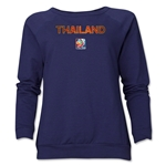 Thailand FIFA Women's World Cup Canada 2015(TM) Women's Core Crewneck Sweatshirt (Navy)