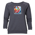 FIFA Women's World Cup Canada 2015(TM).Women's French Core Crewneck Sweatshirt (Dark Grey)