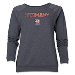 Germany FIFA Women's World Cup Canada 2015(TM) Women's Core Crewneck Sweatshirt (Dark Grey)