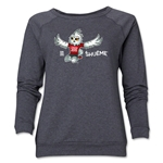 FIFA Women's World Cup Canada 2015(TM) Women's Mascot Pose 2 Crewneck Sweatshirt (Dark Grey)