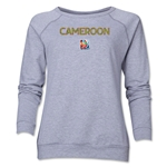 Cameroon FIFA Women's World Cup Canada 2015(TM) Women's Core Crewneck Sweatshirt (Grey)