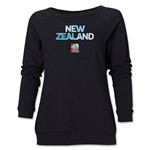 New Zealand FIFA Women's World Cup Canada 2015(TM) Women's Core Crewneck Sweatshirt (Black)