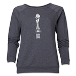 FIFA Women's World Cup Canada 2015(TM) Women's Trophy Crewneck Sweatshirt (Dark Grey)