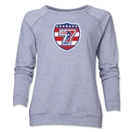 USA Sevens Rugby Women's Crewneck Fleece (Gray)