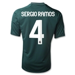 Real Madrid 12/13 SERIO RAMOS Third Soccer Jersey