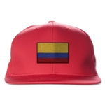 Colombia Flatbill Cap (Red)