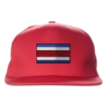 Costa Rica Flatbill Cap (Red)