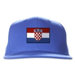 Croatia Flatbill Cap (Royal)