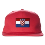 Croatia Flatbill Cap (Red)