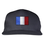 France Flatbill Cap (Black)