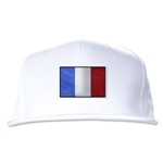 France Flatbill Cap (White)