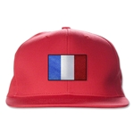 France Flatbill Cap (Red)