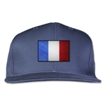 France Flatbill Cap (Navy)