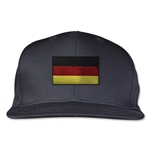 Germany Flatbill Cap (Black)