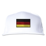 Germany Flatbill Cap (White)