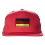Germany Flatbill Cap (Red)