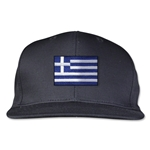 Greece Flatbill Cap (Black)
