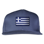 Greece Flatbill Cap (Navy)
