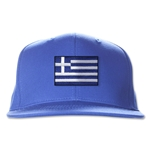 Greece Flatbill Cap (Royal)