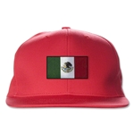 Mexico Flatbill Cap (Red)