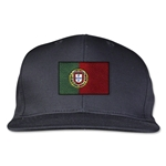 Portugal Flatbill Cap (Black)