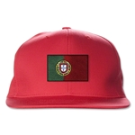 Portugal Flatbill Cap (Red)