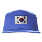 South Korea Flatbill Cap (Royal)