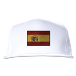 Spain Flatbill Cap (White)