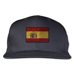 Spain Flatbill Cap (Black)