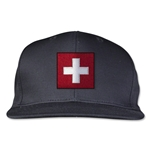 Switzerland Flatbill Cap (Black)