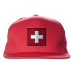 Switzerland Flatbill Cap (Red)