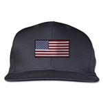 USA Flatbill Cap (Black)