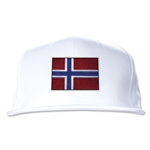 Norway Flatbill Cap (White)