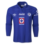 Cruz Azul 13/14 Jersey de Futbol Local ML